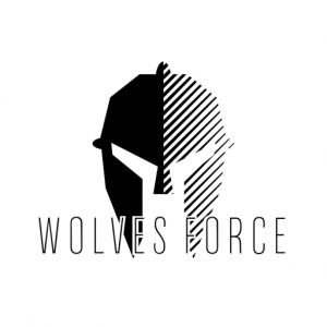 Logo Elmo Wolves Force Black